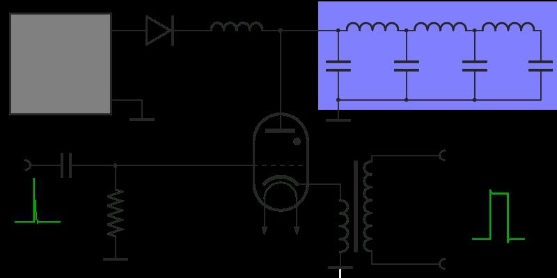 Radar Basics - Radar Modulator on ammeter schematic, diode schematic, parts schematic, door schematic, magneto schematic, light schematic, capacitor schematic, compressor schematic, tube schematic, control panel schematic, radar schematic, lcd schematic, oven schematic, transistor schematic, spring schematic, solenoid schematic, receiver schematic, power schematic, lamp schematic, transducer schematic,