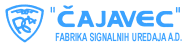 Logo of the company Rudi Čajavec, former giant in electronic industry in the former SFRY